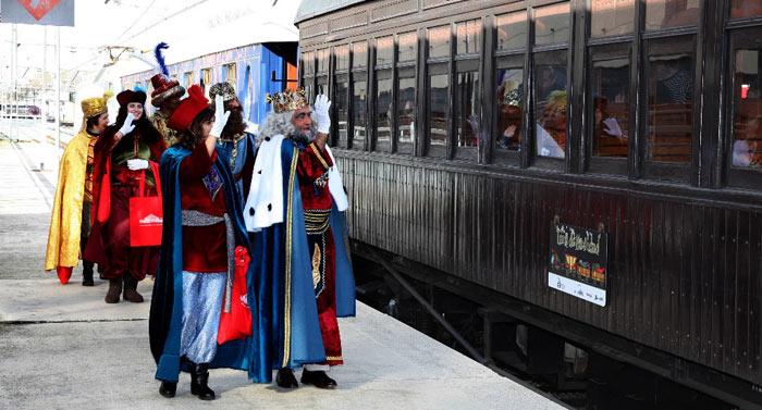 Madrid Christmas train 2017-2018