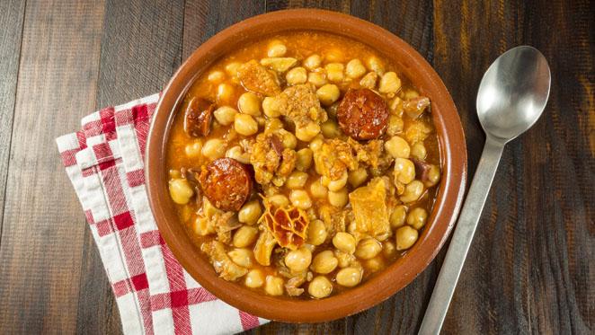 Cocido madrileño. Gastronomía. Madrid
