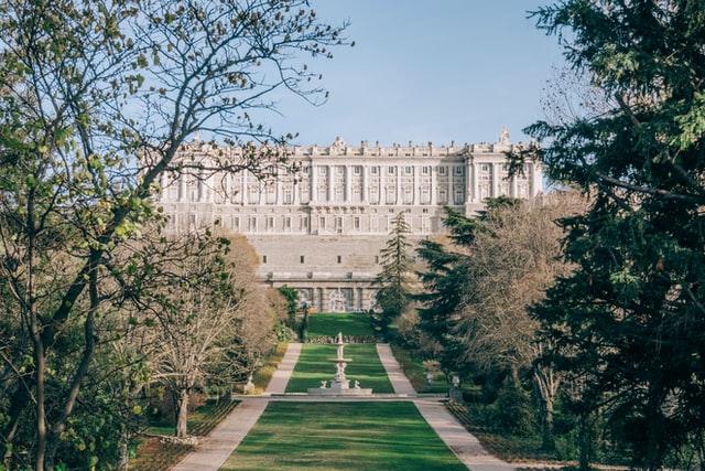 Palacio Real. Madrid.