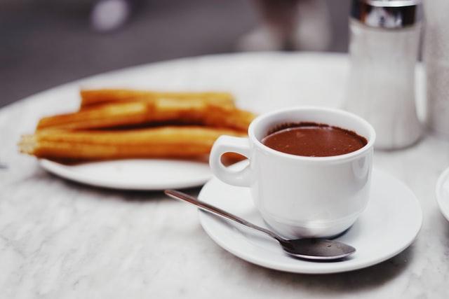 Chocolate. Churros. Madrid.